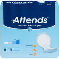 Attends SPS Shaped Pads Super-72/Case