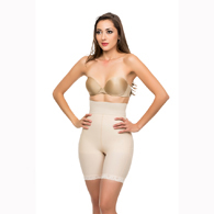 Isavela BE10 Closed Buttocks Enhancer Girdle Mid Thigh Length