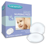 Lansinoh Disposable Nursing Pads-36/Box