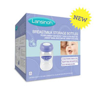 Lansinoh Breastmilk Storage Bottles-4 Bottles